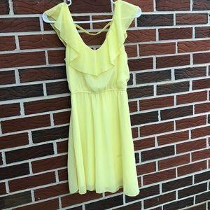 Rue 21 Small Yellow Dress